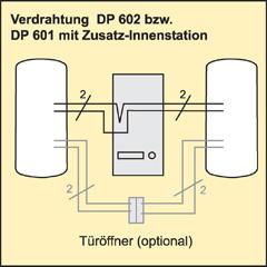 Türsprechanlage DP601