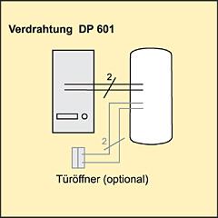Türsprechanlage Verdrahtung Indexa DP-601
