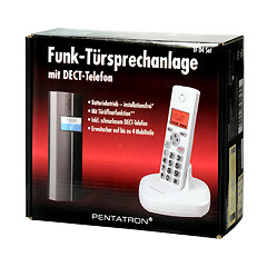 funk t rsprechanlage tf04 mit dect telefon. Black Bedroom Furniture Sets. Home Design Ideas